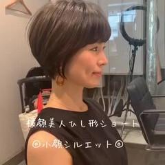 フェミニン ショート 田丸麻紀 吉瀬美智子 ヘアスタイルや髪型の写真・画像