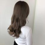 髪質改善 エレガント 髪質改善トリートメント ミルクティーベージュ
