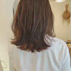 ウルフレイヤー 縮毛矯正 デート 大人かわいい ヘアスタイルや髪型の写真・画像