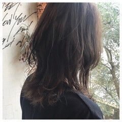 ラフ ウルフカット ナチュラル かっこいい ヘアスタイルや髪型の写真・画像