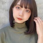 韓国ヘア タンバルモリ 縮毛矯正ストカール デート