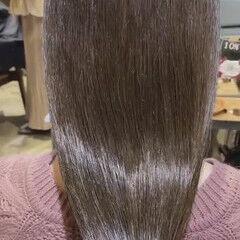 艶髪 透明感カラー うる艶カラー ロング ヘアスタイルや髪型の写真・画像
