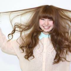 ガーリー モテ髪 ロング 愛され ヘアスタイルや髪型の写真・画像