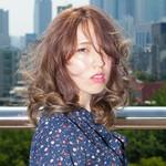 ミディアム デジタルパーマ 韓国 デート