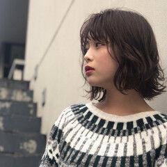 色気 ウェーブ 女子力 ミディアム ヘアスタイルや髪型の写真・画像