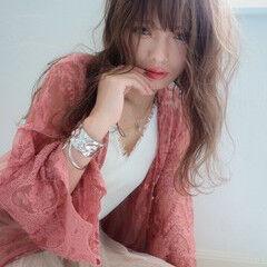 ふわふわ ハイライト 大人かわいい フェミニン ヘアスタイルや髪型の写真・画像