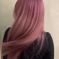 ガーリー ブリーチオンカラー ロング ブリーチ ヘアスタイルや髪型の写真・画像