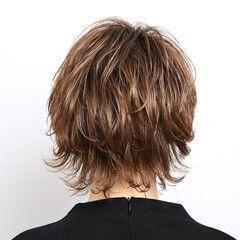 ナチュラル ウルフカット ショート 阿藤俊也 ヘアスタイルや髪型の写真・画像