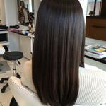 トリートメント 艶髪 ナチュラル セミロング