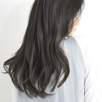 髪質改善トリートメント 透明感カラー 大人可愛い 大人ロング