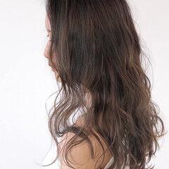 ナチュラル 髪質改善カラー ロング 髪質改善トリートメント ヘアスタイルや髪型の写真・画像