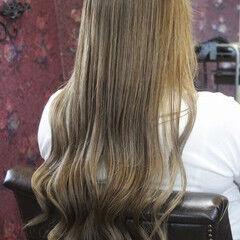 エレガント ブリーチ かわいい 外国人風カラー ヘアスタイルや髪型の写真・画像
