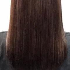 トリートメント 艶髪 ナチュラル セミロング ヘアスタイルや髪型の写真・画像