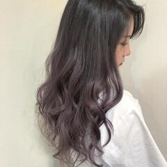 ダブルカラー 髪質改善カラー 透明感カラー 髪質改善 ヘアスタイルや髪型の写真・画像
