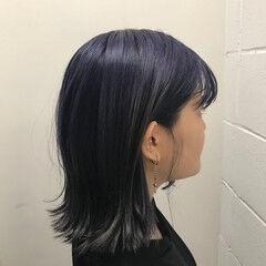 ショート 暗髪 モード ブリーチ ヘアスタイルや髪型の写真・画像