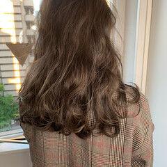 圧倒的透明感 巻き髪 大人女子 ロング ヘアスタイルや髪型の写真・画像