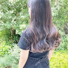 髪質改善トリートメント ロング デジタルパーマ ゆるふわパーマ ヘアスタイルや髪型の写真・画像