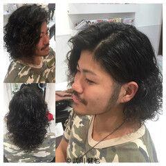 男ウケ ストリート かっこいい パーマ ヘアスタイルや髪型の写真・画像