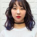 ミディアム ガーリー デジタルパーマ 韓国