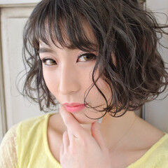 ぐりんぐりん サロンモデル フェミニン サロモ ヘアスタイルや髪型の写真・画像