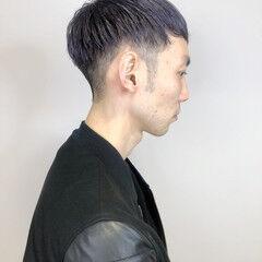 ショート モード ベリーショート バイオレットアッシュ ヘアスタイルや髪型の写真・画像
