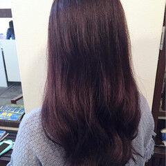アメジスト レッド ガーリー ピンク ヘアスタイルや髪型の写真・画像