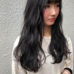 簡単ヘアアレンジ ナチュラル可愛い 地毛風カラー 暗髪