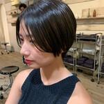 ショート ショートヘア 髪質改善カラー ナチュラル