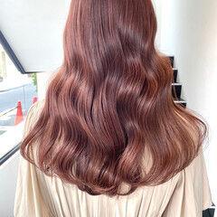 透明感カラー 地毛風カラー 韓国風ヘアー 外国人風カラー ヘアスタイルや髪型の写真・画像