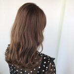 バレイヤージュ セミロング 髪質改善 髪質改善トリートメント