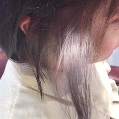 ボブ ミルクティーベージュ ナチュラル oggiotto ヘアスタイルや髪型の写真・画像