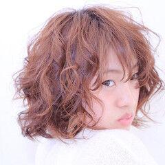 モテ髪 卵型 かわいい 丸顔 ヘアスタイルや髪型の写真・画像