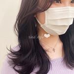 アンニュイほつれヘア モテ髪 ミディアム レイヤー