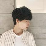 ショートヘア 韓国風ヘアー ナチュラル マッシュヘア