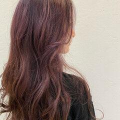 フェミニン デートヘア ふんわり ロング ヘアスタイルや髪型の写真・画像