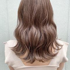 セミロング ヘアアレンジ デート 大人ミディアム ヘアスタイルや髪型の写真・画像