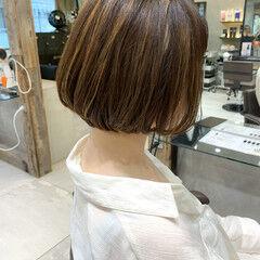 ナチュラル ショート 外国人風カラー 透明感カラー ヘアスタイルや髪型の写真・画像
