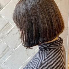 20代 ミニボブ ボブ 銀座美容室 ヘアスタイルや髪型の写真・画像