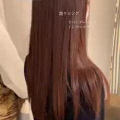 ロング フェミニン 春ヘア 大人かわいい ヘアスタイルや髪型の写真・画像