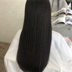 縮毛矯正ストカール 縮毛矯正名古屋市 艶髪 ナチュラル ヘアスタイルや髪型の写真・画像