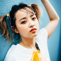 ポニーテールアレンジ 簡単ヘアアレンジ ミディアム ガーリー ヘアスタイルや髪型の写真・画像