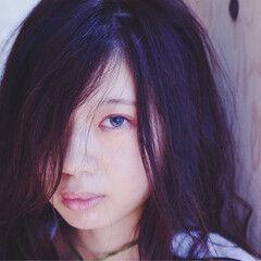 暗髪 フェミニン ガーリー かわいい ヘアスタイルや髪型の写真・画像