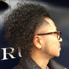 ショート ストリート アフロ ヘアスタイルや髪型の写真・画像