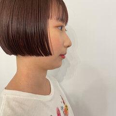 モード ボブ ミニボブ ヘアスタイルや髪型の写真・画像
