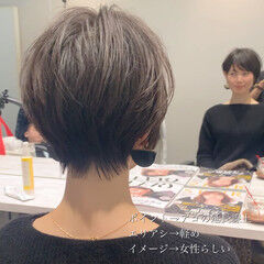 ショート ショートヘア 田丸麻紀 吉瀬美智子 ヘアスタイルや髪型の写真・画像