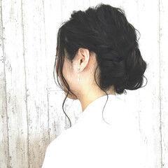 ギブソンタック ヘアアレンジ 外国人風 結婚式 ヘアスタイルや髪型の写真・画像