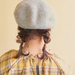 ヘアアレンジ 女子力 フェミニン ボブ ヘアスタイルや髪型の写真・画像