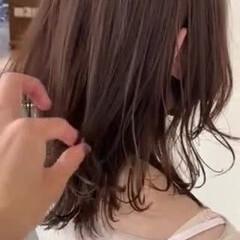 大人カジュアル 鎖骨ミディアム 小顔ヘア ナチュラル ヘアスタイルや髪型の写真・画像