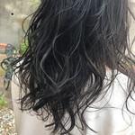 モテ髪 大人ハイライト 透明感カラー コントラストハイライト