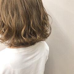 撮影依頼募集中 ハイトーンカラー ストリート ミルクティーベージュ ヘアスタイルや髪型の写真・画像